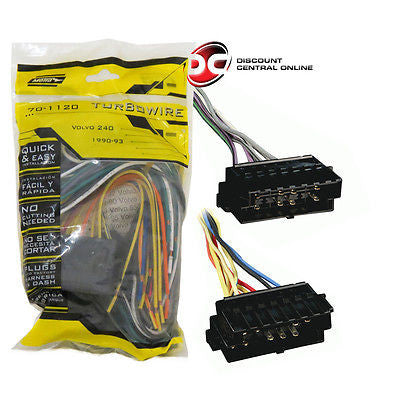 METRA 70-1120 FACTORY AMPLIFIER BYPASS HARNESS FOR 1989-1995 VOLVO VEHICLES