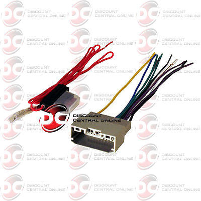 AFTERMARKET STEREO WIRING HARNESS FOR SELECT 2007-2008 CHRYSLER DODGE JEEP