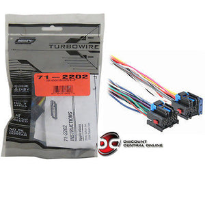 METRA 71-2202 REVERSE WIRING HARNESS FOR SELECT 2006 SATURN ION/VUE VEHICLES