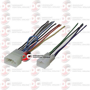 Aftermarket Stereo Wiring Harness For Select 1987-2008 Toyota Vehicles