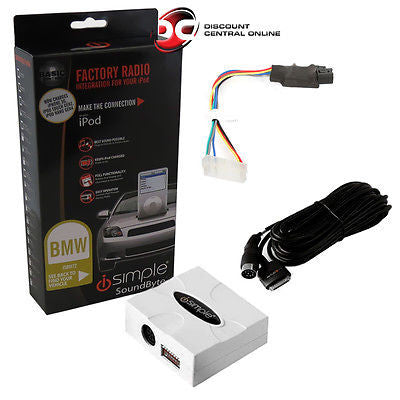 ISIMPLE ISBM72 IPOD INTEGRATION KIT FOR SELECT BMW/ MINI VEHICLES