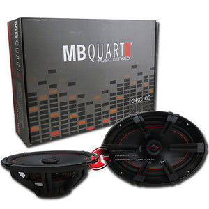 "MB QUART OKC169 6 x 9"" 2-WAY CAR AUDIO SPEAKERS (PAIR)"