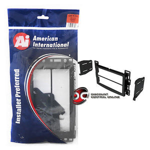 AMERICAN INTERNATIONAL GM-K352 CAR STEREO SINGLE/DOUBLE DIN DASH KIT (GMK352)