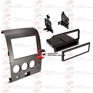 CAR SINGLE DIN INSTALLATION DASH KIT WITH POCKET FOR SELECT 2004-2013 NISSAN