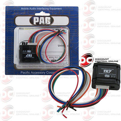 PAC TR-7 CAR AUDIO UNIVERSAL TRIGGER OUTPUT MODULE FOR VIDEO BYPASS