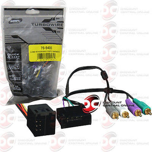 METRA 70-9400 WIRING HARNESS FOR 1998-2001 LAND ROVER DISCOVERY VEHICLES