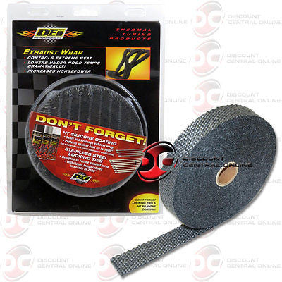 NEW DEI 010107 1-INCH HEADER EXHAUST WRAP HEAT SHIELD 50 FEET ROLL