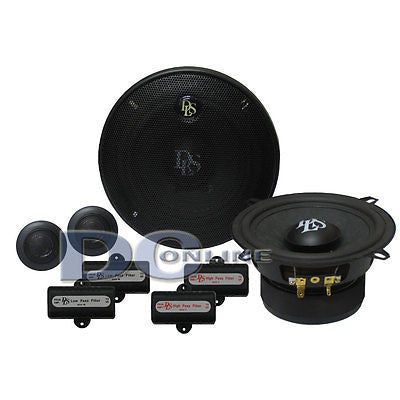 "DLS B5A 5.25"" 4-OHMS 2-WAY CAR AUDIO COMPONENTSPEAKERS"