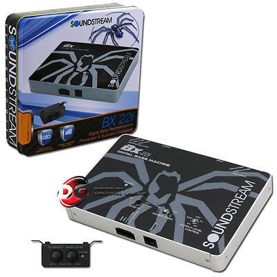 SOUNDSTREAM BX-22i CAR DIGITAL BASS RECONSTRUCTION PROCESSOR