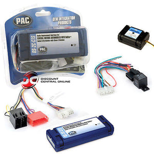 PAC OS-2CTS RADIO REPLACEMENT INTERFACE FOR 2003-2007 CADILLAC CTS/SRX