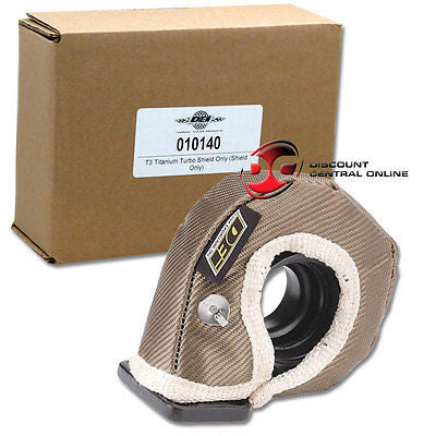 DEI 010140 T3 Turbocharger Titanium Insulation Heat Shield Only- No Wraps & Ties