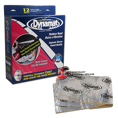 DYNAMAT 10435 CAR DOOR SOUND DAMPENING KIT WITH FOUR 12
