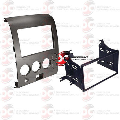 CAR DOUBLE DIN INSTALLATION DASH KIT FOR SELECT 2004-2007 NISSAN VEHICLES