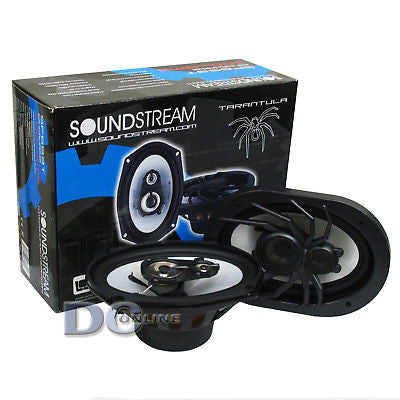 "SOUNDSTREAM SF-693T 6x9"" 3-WAY CAR AUDIO SPEAKERS (PAIR)"
