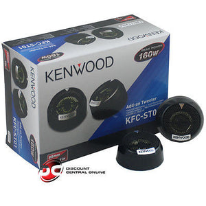 "KENWOOD KFC-ST01 1"" 4-OHM CAR AUDIO DOME TWEETERS"