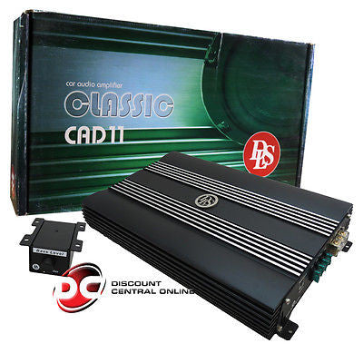 DLS CAD 11 MONOBLOCK CAR AUDIO AMPLIFIER 1050W RMS