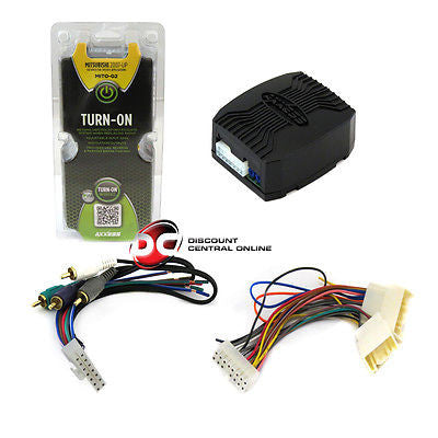 AXXESS MITO-02 AMPLIFIER INTERFACE HARNESS FOR 2007-09 MITSUBISHI VEHICLES