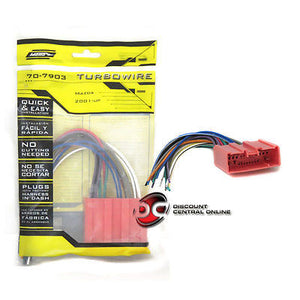 METRA 70-7903 WIRING HARNESS FOR 2001-UP MAZDA PROTEGE