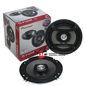 "Pioneer TS-F1634R 6.5"" 2-way Car Coaxial Speakers"