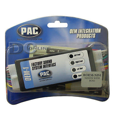 PAC ROEM-NIS1 FACTORY RADIO REPLACEMENT KIT FOR NISSAN