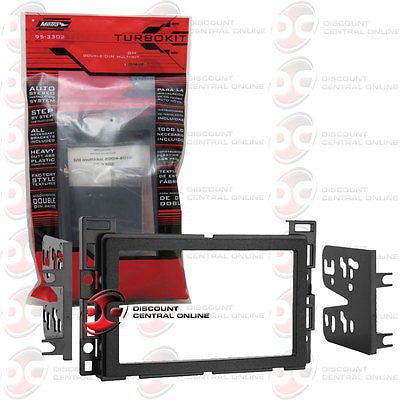 Metra 95-3302 Double din installation dash kit for 2004-06 GM chevrolet vehicles