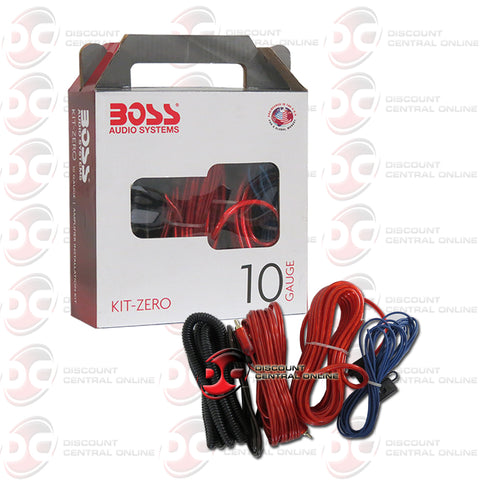 Boss Link Kit-Zero 10 Gauge 10GA Amplifier Installation Kit
