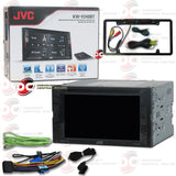 "JVC 2DIN KW-V240BT 6.2"" Car DVD CD Receiver with Bluetooth (with Back-up Camera)"