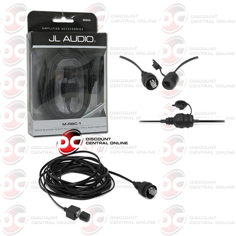 JL Audio M-RBC-1 Water-resistant Bass Remote For Select M, MHX & Slash Series