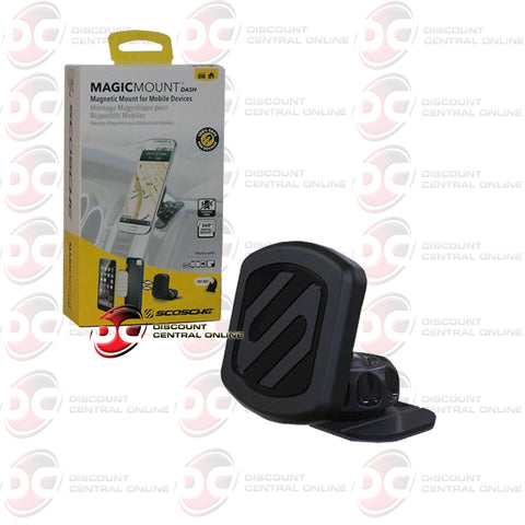 SCOSCHE MAGDM2 MAGIC MOUNT DASH MAGNETIC MOUNT FOR MOBILE DEVICES