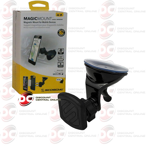 SCOSCHE MAGWSM2 MAGIC MOUNT DASH/WINDOW MAGNETIC MOUNT FOR MOBILE DEVICES