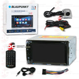"BLAUPUNKT MIAMI 620 6.2"" MEDIA RECEIVER WITH CD/DVD/AUX/USB/SD/AM/FM/BLUETOOTH CAPABILITY"