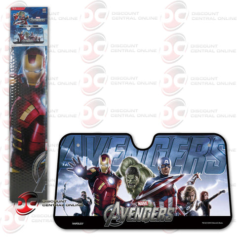 NAPOLEX MARVEL THE AVENGERS CAR SUNSHADE (ML-12)