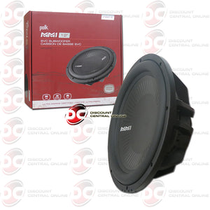 "Polk Audio MM1242SVC MM1 Series 12"" Singlel 4-Ohm Car Audio Subwoofer"