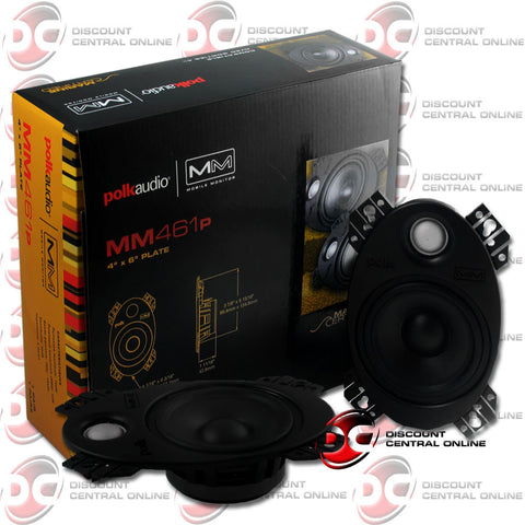"Polk Audio MM461P 4x6"" Car Audio Speakers"