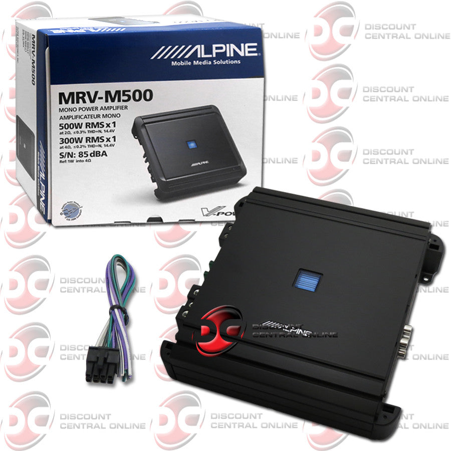 Alpine MRV-M500 Car Audio Amplifier