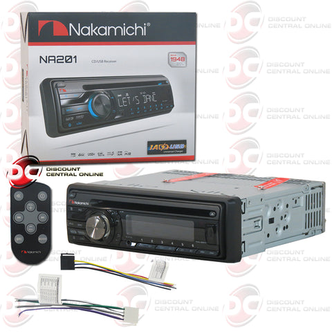 Nakamichi 1-Din NA201 Car CD Receiver