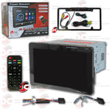 "Power Acoustik PD-1032B 1-DIN 10.3"" DVD CD Car Stereo with Bluetooth (with Back-up Camera)"