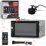 "POWER ACOUSTIK PD-620B 2-DIN 6.2"" TOUCHSCREEN CD/DVD/USB CAR STEREO WITH BLUETOOTH (WITH BACK-UP CAMERA)"