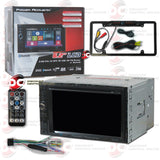 "Power Acoustik PD-624B 6.2"" 2-DIN Car Audio CD/DVD Receiver With Bluetooth (with Back-up Camera)"