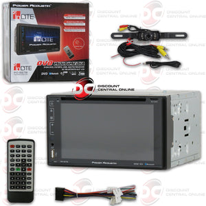 "POWER ACOUSTIK PD-627B 2-DIN 6.2"" CAR DVD/CD/USB/AM/FM RECEIVER WITH BLUETOOTH (WITH BACK-UP CAMERA)"