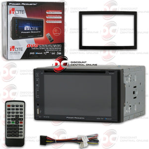 "POWER ACOUSTIK PD-627B 2-DIN 6.2"" CAR DVD/CD/USB/AM/FM RECEIVER WITH BLUETOOTH"
