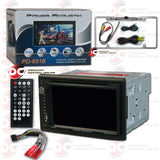 "Power Acoustik 2-Din PD-651B  6.5"" Car CD/DVD Receiver with Bluetooth"