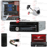 "POWER ACOUSTIK PD-720B 1-DIN CD/DVD/AM/FM/BLUETOOTH CAR STEREO WITH 7"" MOTORIZED LCD TOUCHSCREEN (WITH BACK-UP CAMERA)"