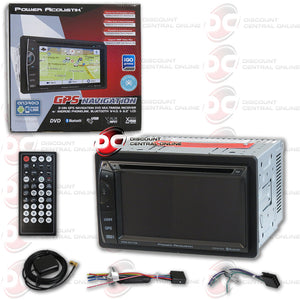 "Power Acoustik PDN-621HB 6.2"" Media Receiver with USB/AUX/CD/MP3/DVD/GPS/Bluetooth Capability"