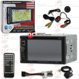 "POWER ACOUSTIK PDN-623B 2-DIN 6.2"" CAR DVD/CD/AM/FM/USB/BLUETOOTH RECEIVER WITH GPS (WITH BACK-UP CAMERA)"