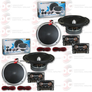 "Soundstream PF.6 6.5"" 2-way Car Component Speaker System (2 Pairs)"