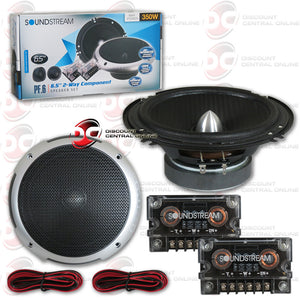 "Soundstream PF.6 6.5"" 2-way Component Car Speaker System"