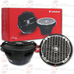 "ROCKFORD FOSGATE PM282B 8"" 400W 2-WAY FULL RANGE COAXIAL MARINE SPEAKER IN BLACK (PUNCH SERIES)"