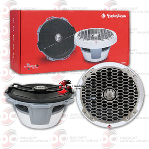 "ROCKFORD FOSGATE PM282 8"" 400W 2-WAY FULL RANGE COAXIAL MARINE SPEAKER IN WHITE (PUNCH SERIES)"