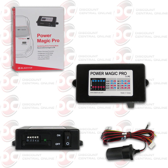 BLACKVUE POWER MAGIC PRO BATTERY DISCHARGE PREVENTION DEVICE